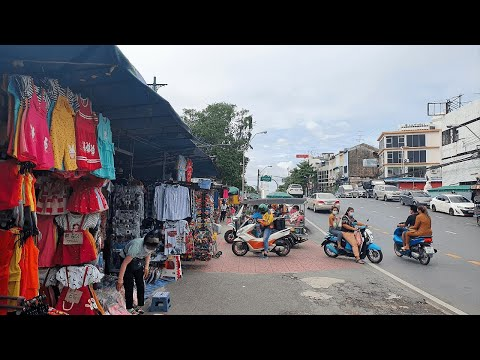 [4K] Walk around Bobae Market - Cheapest Clothing Shopping in Bangkok, Thailand