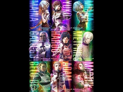 Godzilla Anime News A Rainbow of Posters