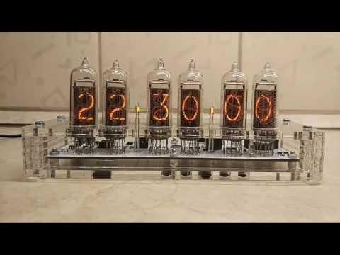 Часы на газоразрядных лампах ИН-14