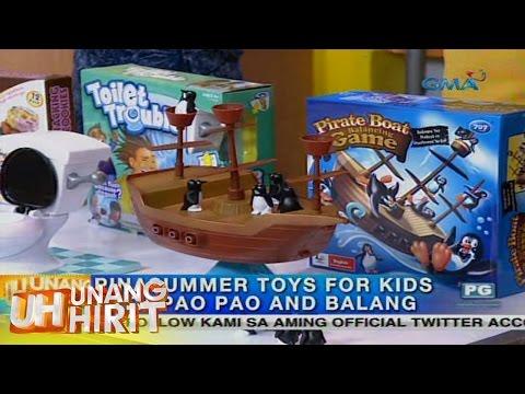 Unang Hirit: Summer toys with Paopao and Balang