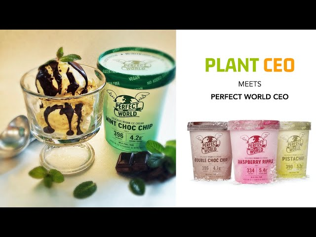 PLANT CEO #2 - Perfect World Ice Cream CEO talks Plant-based ice cream with vitamins