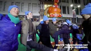 Rehearsal for the Macy's Thanksgiving Day Parade | DEAR EVAN HANSEN