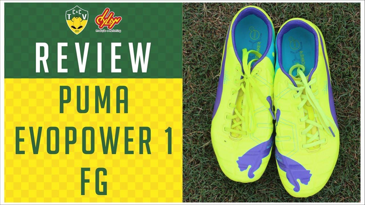 c21e4ccdc6867 Review - Puma evoPOWER 1 FG - Camisas e Chuteiras