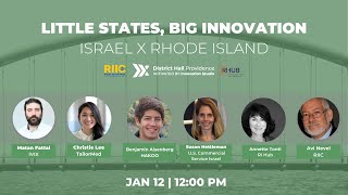 1/12 Little States, Big Innovation | RI | District Hall Providence