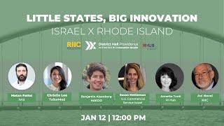 1/12 Little States, Big Innovation | RI | District Hall Providence