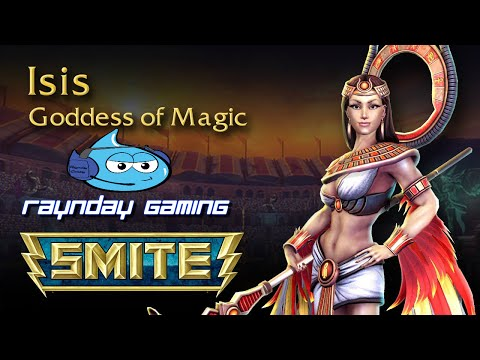 Smite God Guide: Isis Gameplay and Build - THE MOST AMAZING COMEBACK