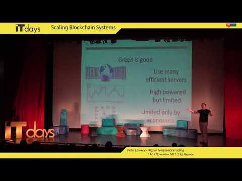 Scaling Blockchain Systems - Peter Lawrey (Higher Frequency Trading)