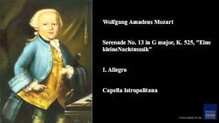 """Wolfgang Amadeus Mozart, Serenade No. 13 in G major, K. 525, """"Eine kleine Nachtmusik"""", I. Allegro"""