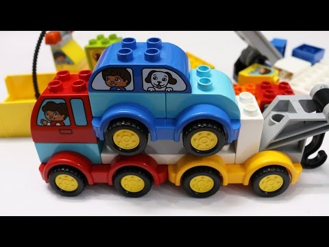 Thumbnail: Building Blocks Toys for Children Lego Cars Trucks Fun & Creative Combination