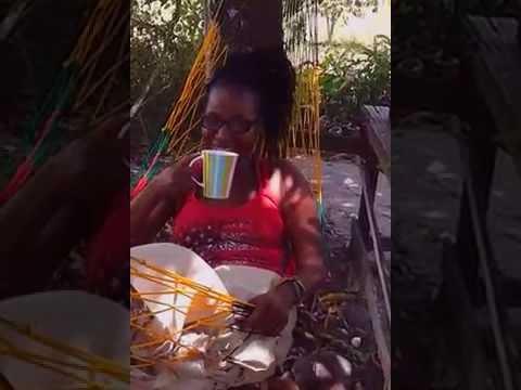 GUYANA Vacation 2015 - Enjoying My HAMMOCK Heaven In Kuru Kururu Guyana