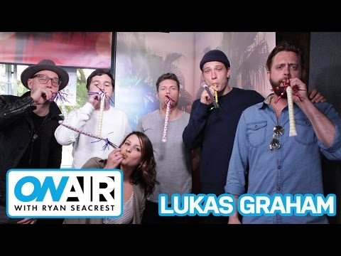 Lukas Graham Sings Danish Birthday Song To Sisanie | On Air with Ryan Seacrest