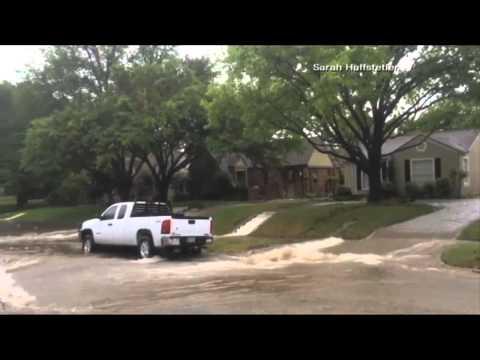 Fort Worth neighborhood flooding - 4-13-15