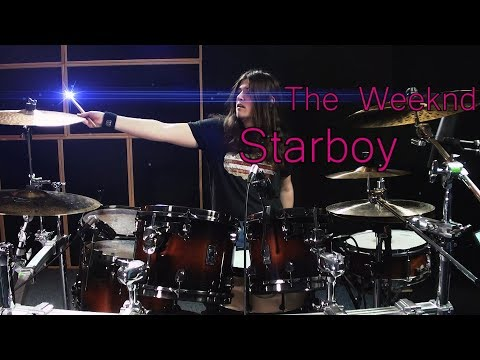The Weeknd - Starboy - Adrian Trepka /// DRUM COVER