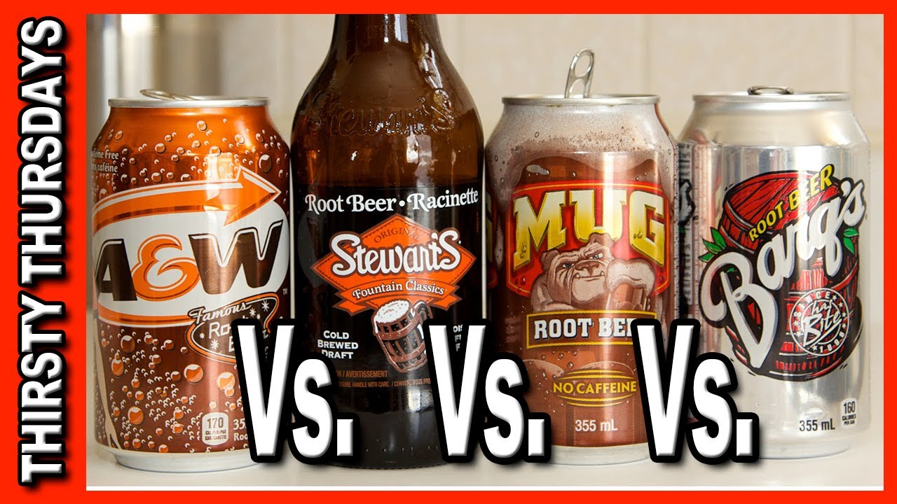 Root Beer Taste Off AW Stewarts Mug And Barqs