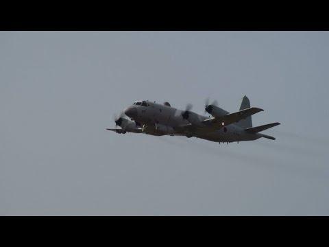 P-3C機動展示(First flight)   エアーメモリアル in かのや2013