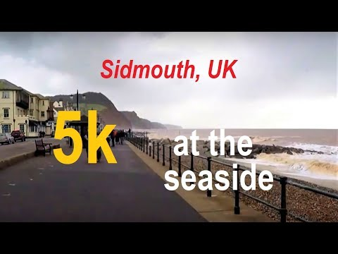 5K Run ~ 20 Minutes - Running By The Sea! (Training In Sidmouth)