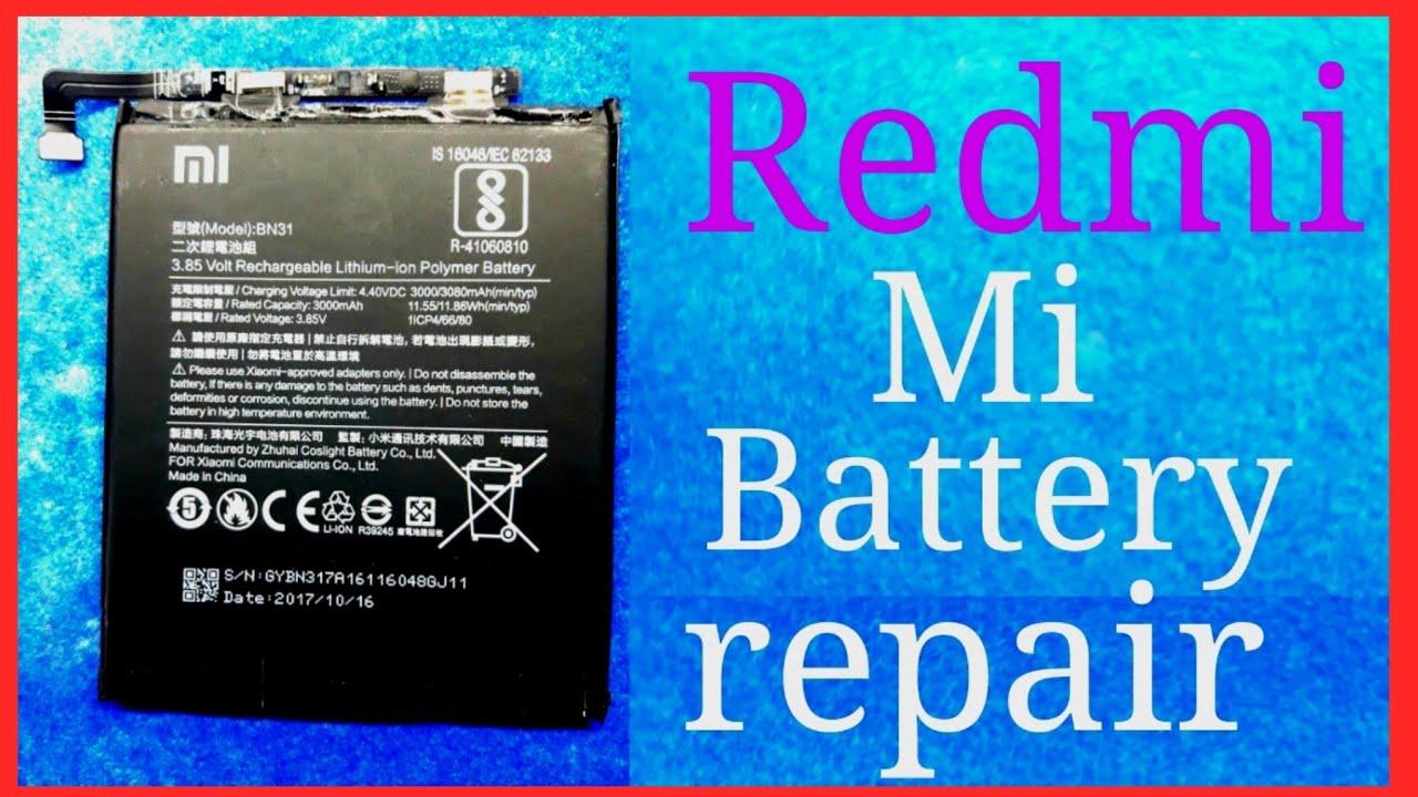 xiaomi mi Redmi Y1 battery reapairing solution,redmi mi battery reapair,