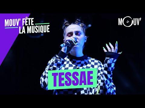 Youtube: TESSAE:«Bling»,«La Flemme»,«Purple rain» (Concert Mouv' fête la musique)