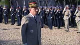 Cérémonie de remise de médailles de la Légion d