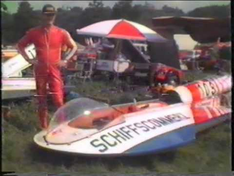 Motorbootrennen in Dresden 1988
