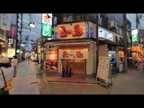 【4K】Test run through Nakano and Nakano Broadway.