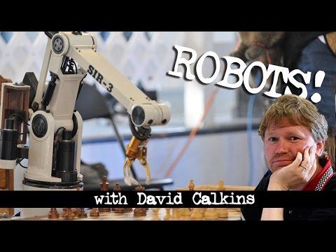 Talking Robots with David Calkins of RoboGames