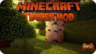 TreeCapitator Mod 1.7.10 для Minecraft - Скачать Моды