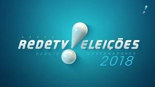 Debate entre os candidatos ao governo de SP na RedeTV!
