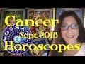 Cancer, Tarot Reading & Astrology Horoscope September 2018