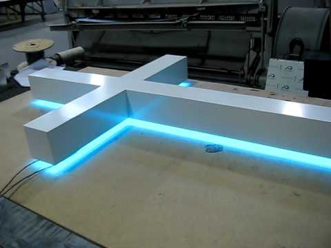 Sagemont Led Backlit Cross Youtube