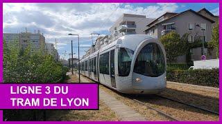 [1080p Lyon] Tramway T3 - Gare Part-Dieu Villette / Meyzieu les Panettes
