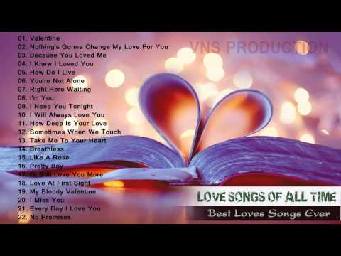 List of greatest love songs