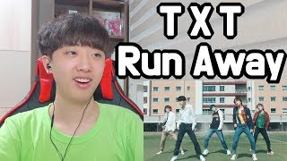 TXT (TOMORROW X TOGETHER) - 'Run Away' MV KOREAN FAN REACTION