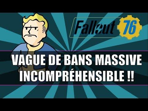 FALLOUT 76: VAGUE DE BANS MASSIVE ! INCOMPRÉHENSIBLE !! thumbnail