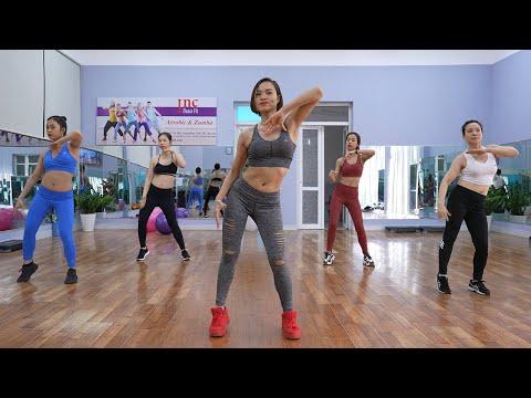 50 Phút Tập Aerobic Mỗi Ngày - Giảm Béo Thành Công Tại Nhà | Inc Dance Fit