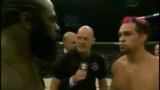 Kimbo Slice gets knocked out in seconds!!!