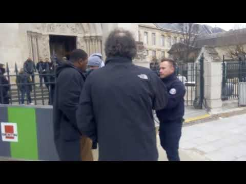 FAKE NEWS News World   Saint Denis France Muslim immigrants attack