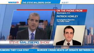 Patrick Howley -- political reporter for The Daily Caller