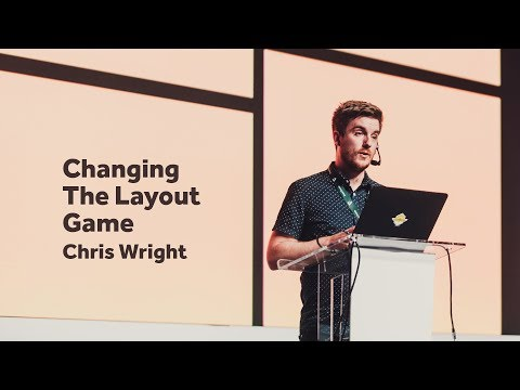 Changing The Layout Game – Chris Wright / Front-Trends 2017