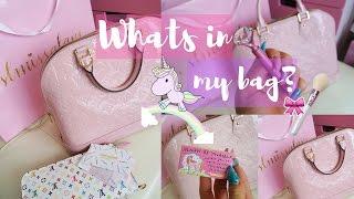Whats In My Bag? Louis Vuitton Alma -SLMissGlam🦄💕