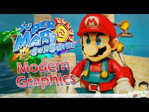 Super Mario Sunshine HD With Modern Graphics! [Facecam Reupload]