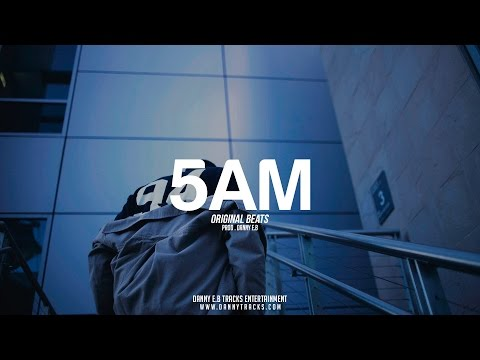 """5 am"" - Smooth Guitar x Drums Instrumental (Prod.Danny E.B)"
