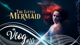 "MERMAID VLOG #10 | Making of ""The Little Mermaid"" tribute clip in live action"