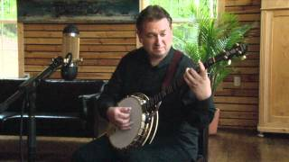 Jens Kruger plays Bach Cello Suite No. 1 on Banjo