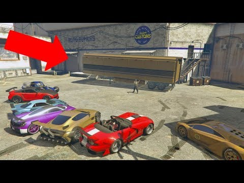 how to make a ramp car in gta 5