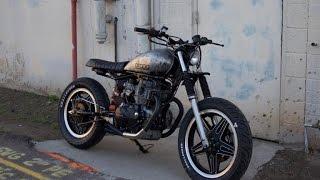 honda cm400 scrambler custom by droog moto concepts