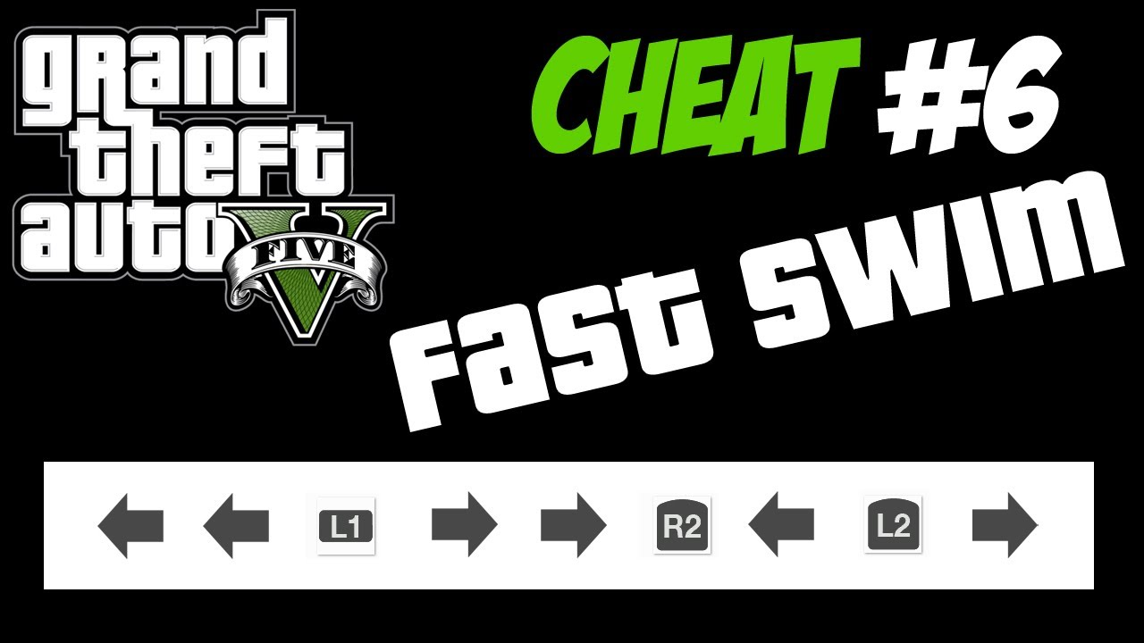 GTA 5 Trucchi #6 - NUOTA VELOCE [PS3 Xbox 360 HD ITA ...