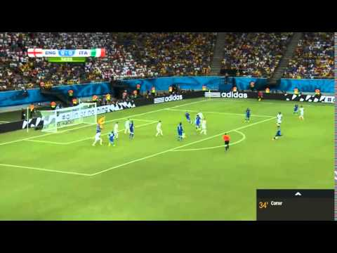 Claudio Marchisio BRILLIANT GOAL ~ Italy vs England 1 2 ~ World Cup 2014