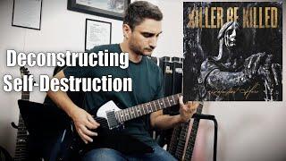 Killer Be Killed 'Deconstructing Self-Destruction' GUITAR COVER (NEW SONG 2020)