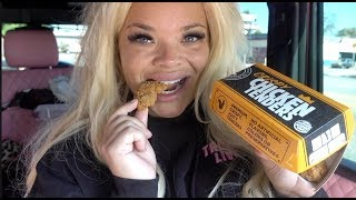 TRYING BURGER KING'S NEW CRISPY CHICKEN TENDERS